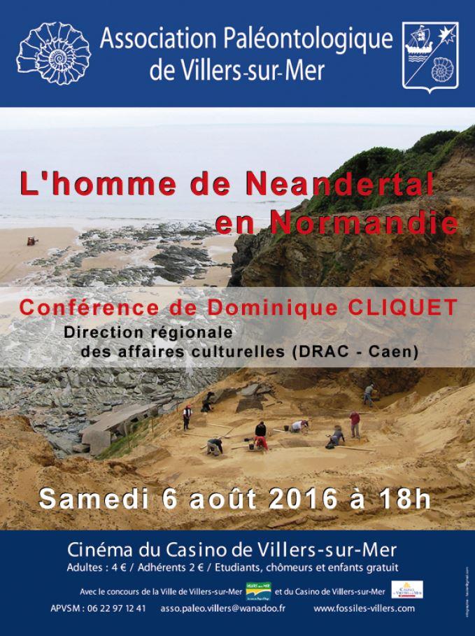 L'homme de Neandertal en Normandie