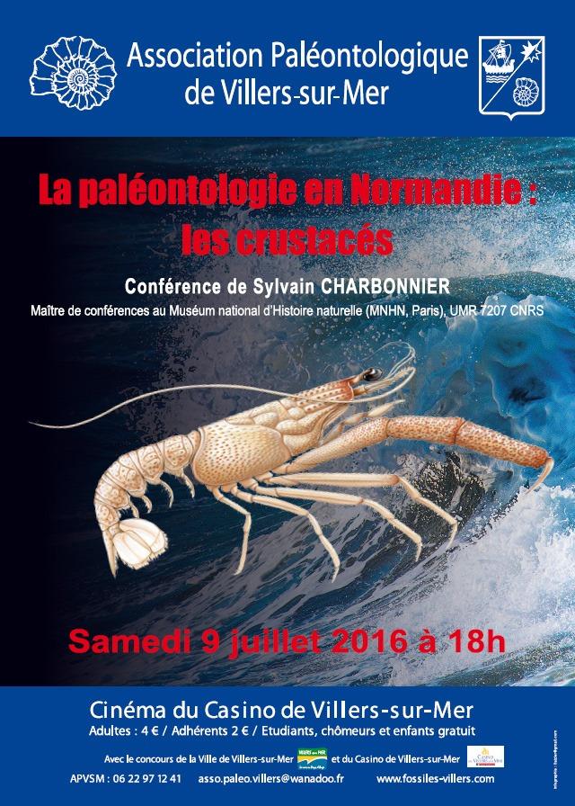 La paléontologie en Normandie : les crustacés