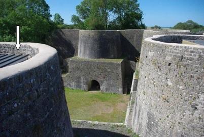 1ère ETAPE : Les fours à chaux du Rey de Regnéville sur Mer