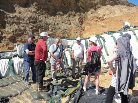 2ème ETAPE : Le site paléolithique du Rozel