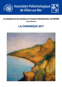Chronique 2017