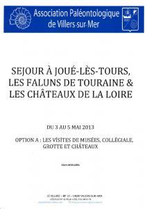Chronique 2013
