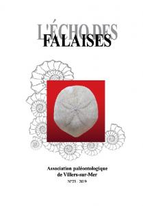 Association Paléontologique de villers-sur-mer