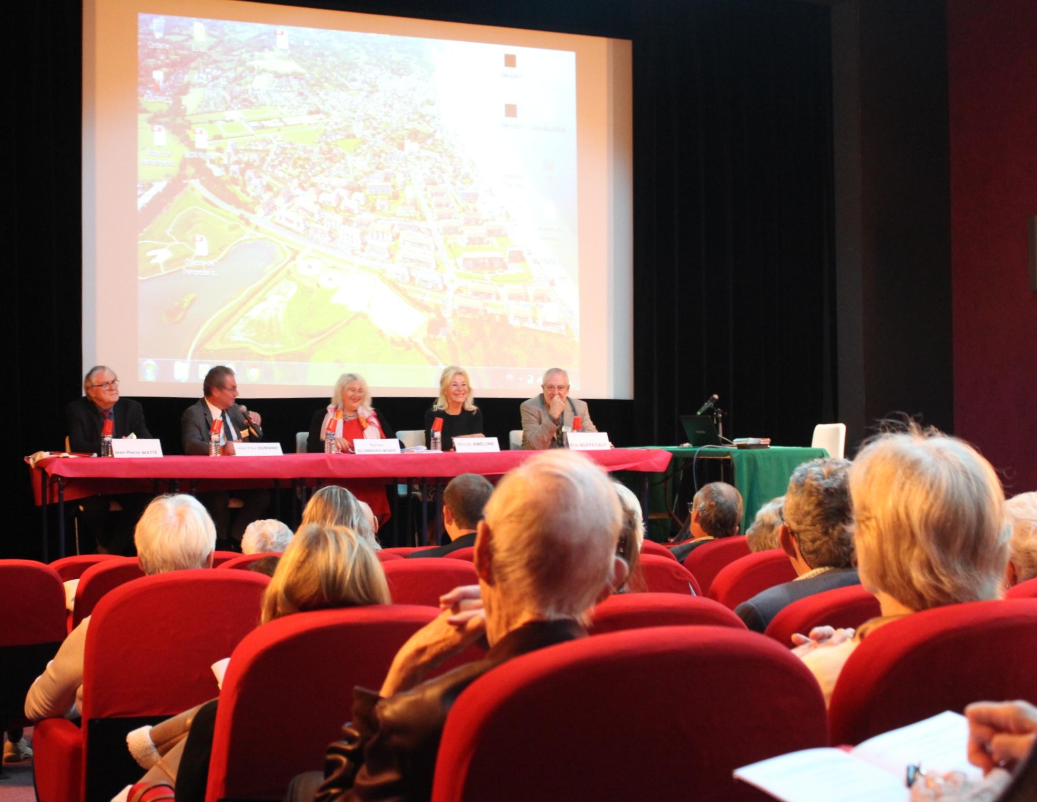 Conférence au colloque des 40ans de l'Association de Paléontologie de Villers sur mer